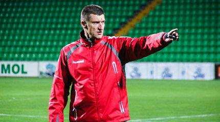 Sezono finiše praretėjusią Lietuvos futbolo rinktinę egzaminuos moldavai