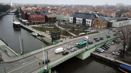 Ar tiltai kalti, kad Danėje nėra laivų?