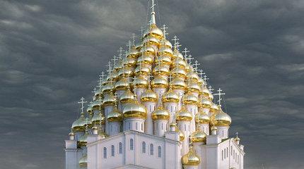 Sankt Peterburge pasiūlė pastatyti 320-ies kupolų bažnyčią – kodėl tokią neįprastą?