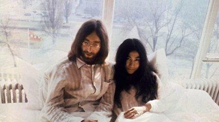 """Lietuviai vieni pirmųjų išgirs Yoko Ono ir Davido Guettos kurtą hito """"Imagine"""" versiją"""