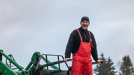 """Ūkininkaujančio aktoriaus išpažintis: """"Niekas neverčia būti žemdirbiu, to noriu pats"""""""