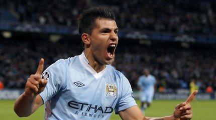"""""""Manchester City"""" per šešerius metus vien puolėjams išleido 368 mln. eurų"""