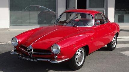"""Kaina už istoriją: pusės milijono litų verta """"Alfa Romeo Giulietta"""""""