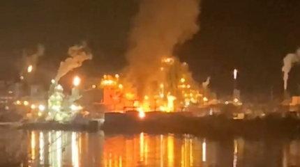 Chemijos gamykloje įvyko didelis sprogimas: gyventojams įsakyta likti namuose, ore tvyro cheminės medžiagos kvapas