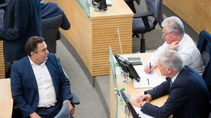Petras Gražulis grąžintas į Seimo Audito komitetą