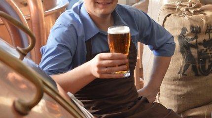 Lietuvio aludario sukurtas alus – tautiečiams tinkamas
