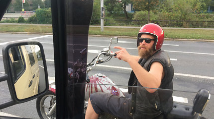 Mano AUTOstogos: kaip baikeris Janas iš Brno tapo mūsų kelionės herojumi