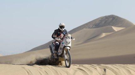 Lietuvių motociklininkų desantas ruošiasi užkariauti Sacharos dykumą