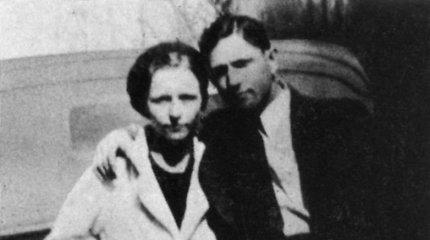 JAV nusikaltėlių porelė Bonnie ir Clyde'as