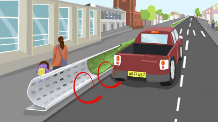 Diskusijas kelianti idėja: kodėl šalia miesto gatvių ateityje gali atsirasti tokie riesti barjerai?