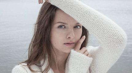 Gabrielė Martirosianaitė tapo lietuviškų megztinių reklaminiu veidu