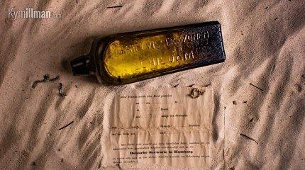 Rasta seniausia pasaulyje žinutė butelyje, parašyta dar 1886 m.