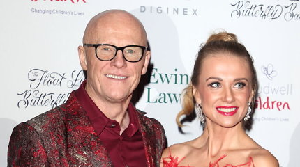 Pagausės milijardieriaus J.Caudwello ir lietuvės M.Vžesniauskaitės šeima: pora laukiasi pirmagimio
