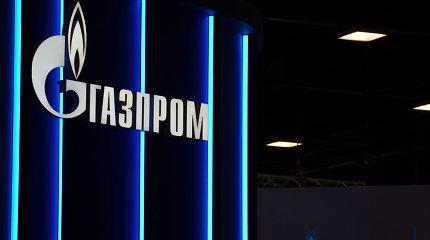 """""""Gazprom"""" sudarė pirmąjį eksporto į Vakarų Europą sandorį už rublius"""