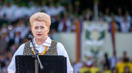 D.Grybauskaitė pasidalijo įsimintinomis 2018 metų akimirkomis