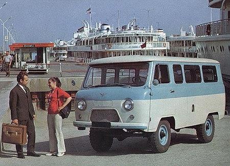 Autobusiukas UAZ 452