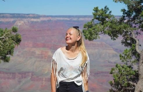 Asmeninė nuotr./Didžiajame kanjone, JAV