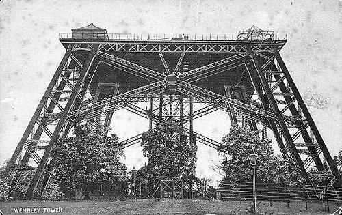 Wikimedia Commons / Public Domain nuotr./Vatkino bokšto dalis, kuri buvo pastatyta