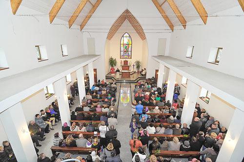 Kūlupėnų bažnyčia atidaryta ir pašventinta Verbų sekmadienį