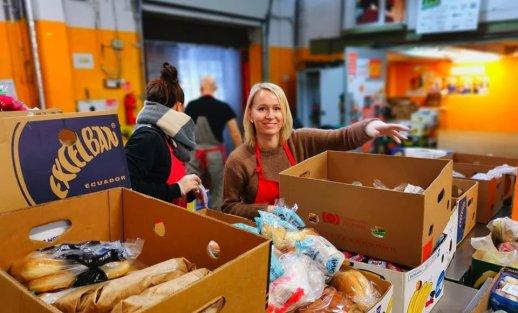 Visuomenė kviečiama prisijungti prie maisto gelbėjimo iniciatyvos prekybos centruose