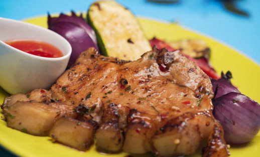 Jei norisi kitokio skonio: azijietiškas kiaulienos kepsnys