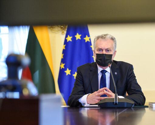 Roberto Dačkaus nuotr./Gitanas Nausėda