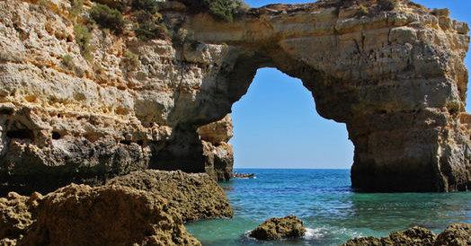 Portugal Algarve Karta.Portugalijos Pietus Vilioja Nesaugių Salių Atbaidytus Keliautojus