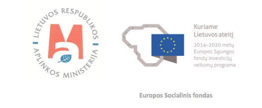 AM ir ES logotipai