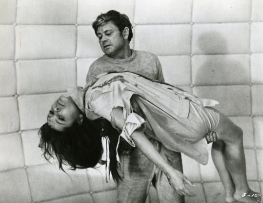 "Natalija Bondarčiuk ir Donatas Banionis filme ""Soliaris"" (1972 m.)"