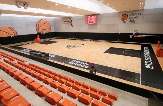 alqueriadelbasket.com nuotr./Valensijos krepšinio kompleksas