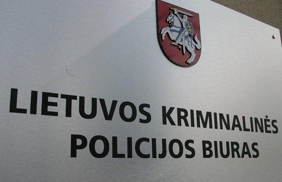 Policijos departamento nuotr./Lietuvos kriminalinės policijos biuras