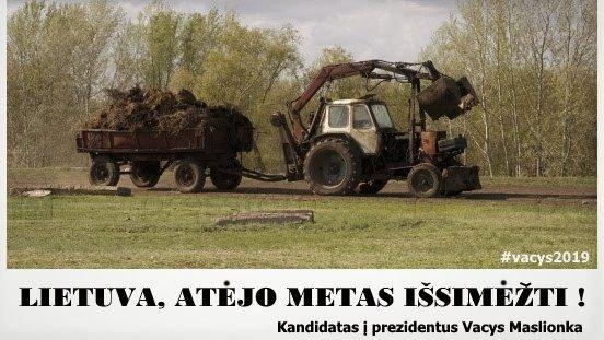 Traktoriai – Vacio Maslionkos aistra