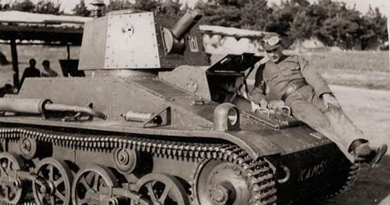 """KAM nuotr./Lietuvos kariuomenės Oro gynybos batalionas Radviliškyje įsikūręs toje vietoje, kur nuo 1935 m. veikė inžinerinis batalionas ir vėliau Šarvuočių rinktinė (prancūziški tankai FT17, angliški """"Vickers"""" bei švediški šarvuočiai """"Landsverk"""")"""