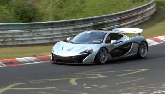"""Kadras iš vaizdo siužeto/""""McLaren P1"""""""