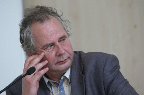 Juliaus Kalinsko/15min.lt nuotr./Valdybos pirmininku išrinktas profesorius Alvydas Nikžentaitis.