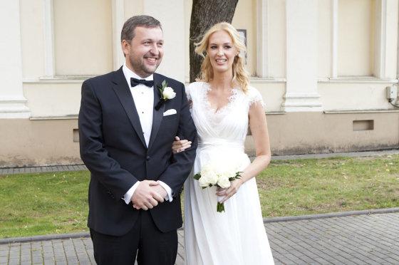 Mariaus Žičiaus/Žmonės.lt nuotr. /Antanas Guoga su žmona Aiste