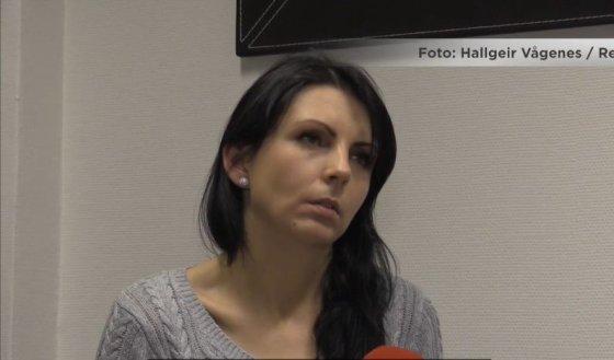 Vg.no stop kadras/Norvegijoje nužudytos Monikos motina Kristina