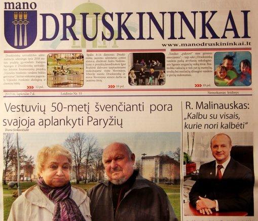 """laikraštis/""""Mano Druskininkai"""""""