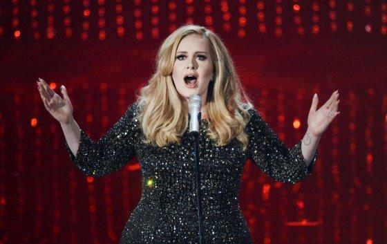"AFP/""Scanpix"" nuotr./Adele"