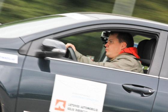 Egidijaus Babelio nuotr./Geriausio vairuotojo rinkimai Klaipėdoje
