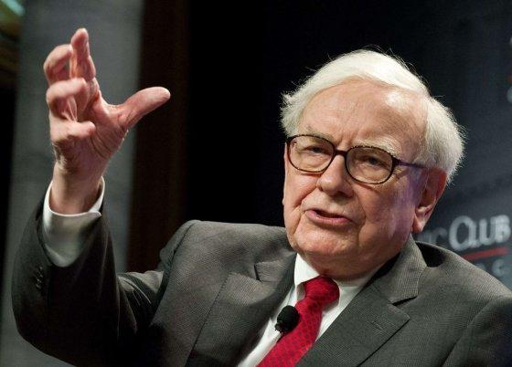 """AFP/""""Scanpix"""" nuotr./Warrenas Buffettas"""