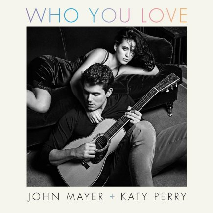 """Twitter""/Mario Sorrenti nuotr./Katy Perry ir Johno Mayerio singlo ""Who You Love"" viršelis"
