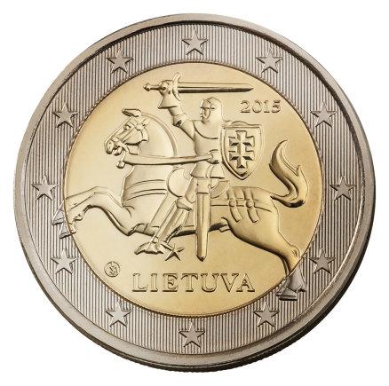Lietuvos banko nuotr./2 eurų monetos etalonas