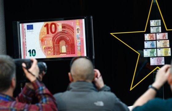 """Reuters""/""Scanpix"" nuotr./10 eurų banknotas"