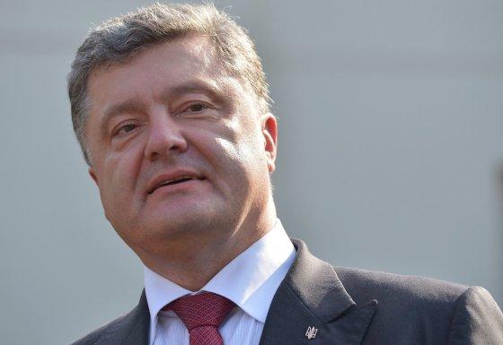 "AFP/""Scanpix"" nuotr./Ukrainos prezidentas Petro Porošenka"