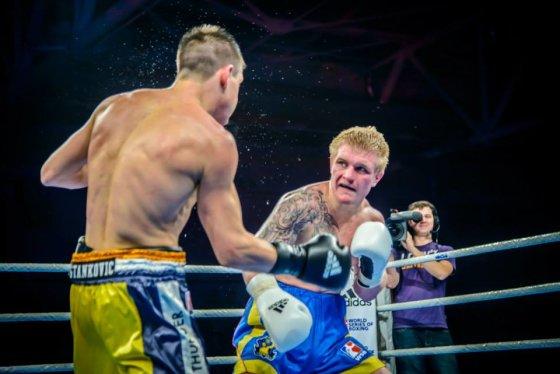 boksopasaulis.lt/Evaldas Petrauskas debiutinėje kovoje WSB lygoje įveikė Branimirą Stankovičių.
