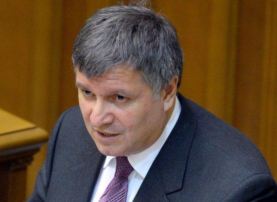 """AFP/""""Scanpix"""" nuotr./Ukrainos vidaus reikalų ministras Arsenas Avakovas"""