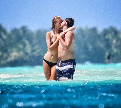 AOP nuotr./Leonardo DiCaprio ir Toni Garrn