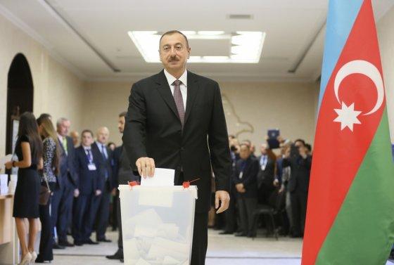 """""""Reuters""""/""""Scanpix"""" nuotr./Azerbaidžano prezidentas Ilhamas Aliyevas"""