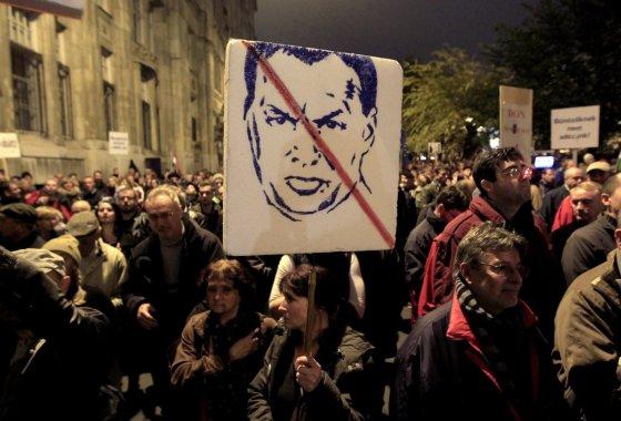 """Reuters""/""Scanpix"" nuotr./Protestas Budapešte"